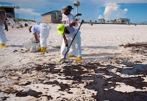 Oil Spill Cleanup BP