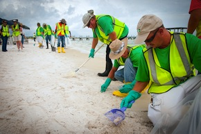 Staffing Factoring Helps Oil Spill Cleanup Jobs