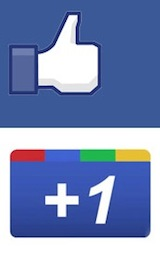 Factoring Business: Should You Use Google+1 or Facebook?