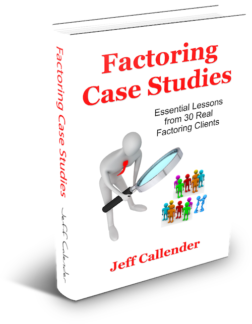 Factoring Case Studies Book Cover