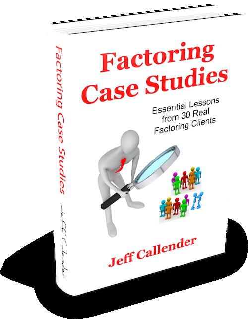 Factoring Case Studies Book Cover