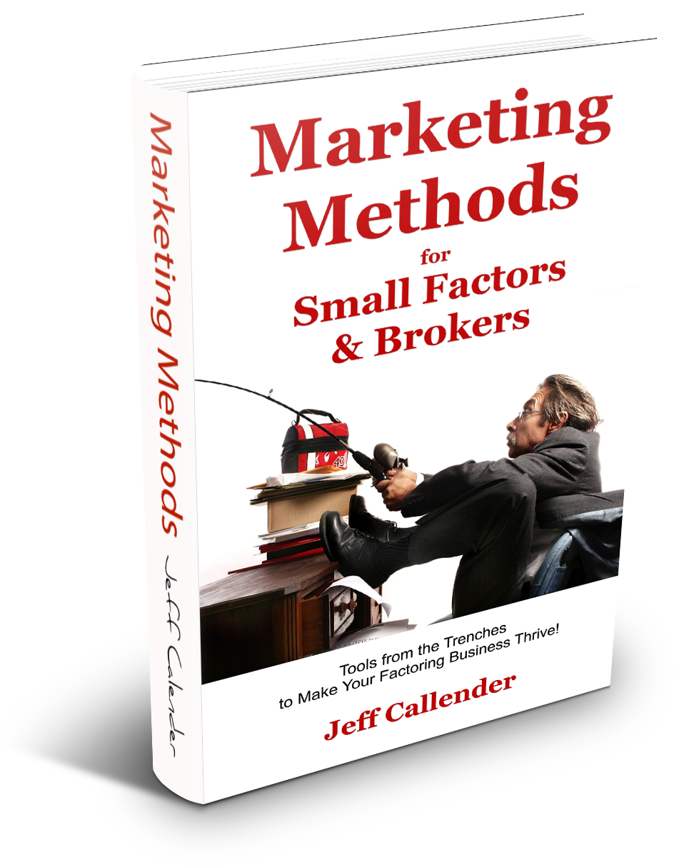 Marketing Tools for Factoring Brokers Book Cover